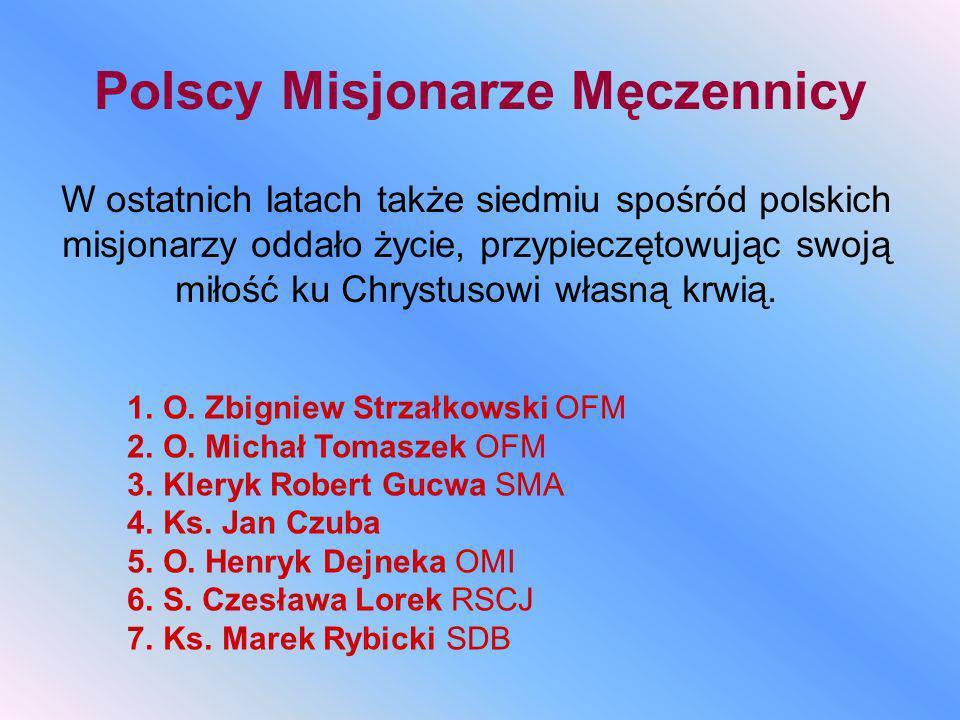 Polscy Misjonarze Męczennicy