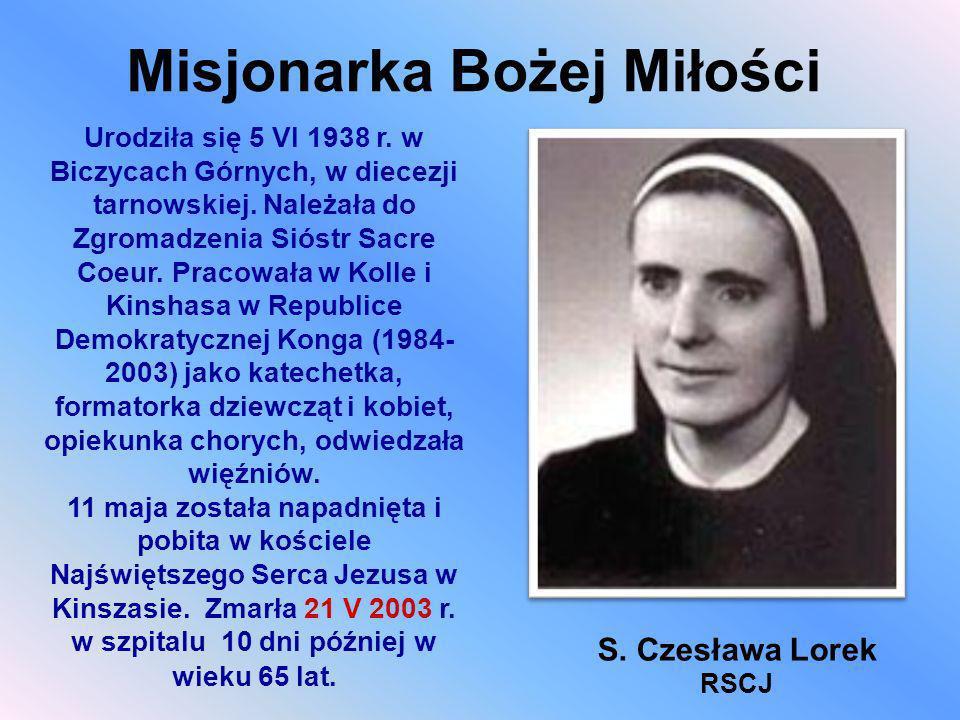 Misjonarka Bożej Miłości