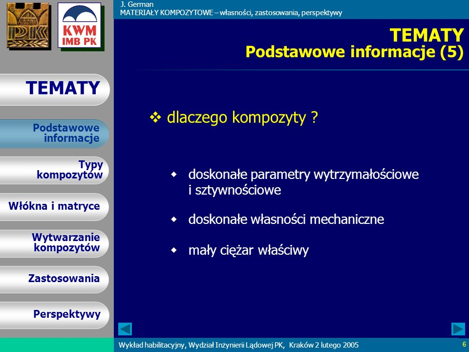 TEMATY Podstawowe informacje (5)