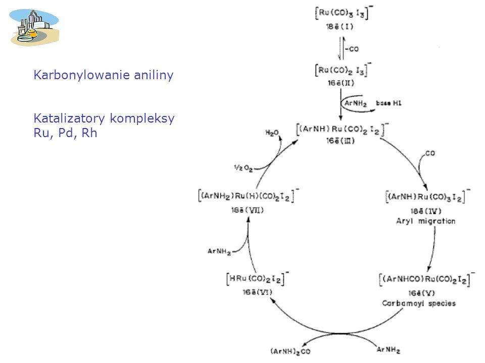 Karbonylowanie aniliny