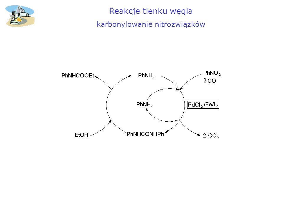 karbonylowanie nitrozwiązków