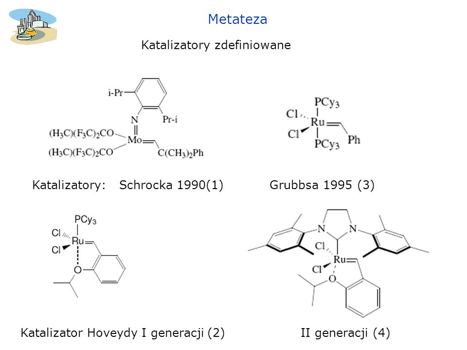 Metateza Katalizatory zdefiniowane