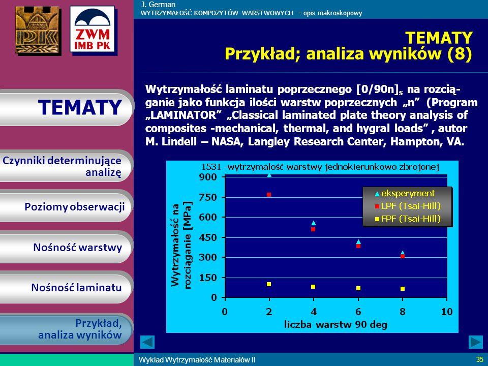 TEMATY Przykład; analiza wyników (8)