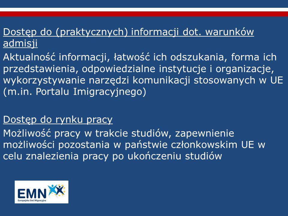 Dostęp do (praktycznych) informacji dot