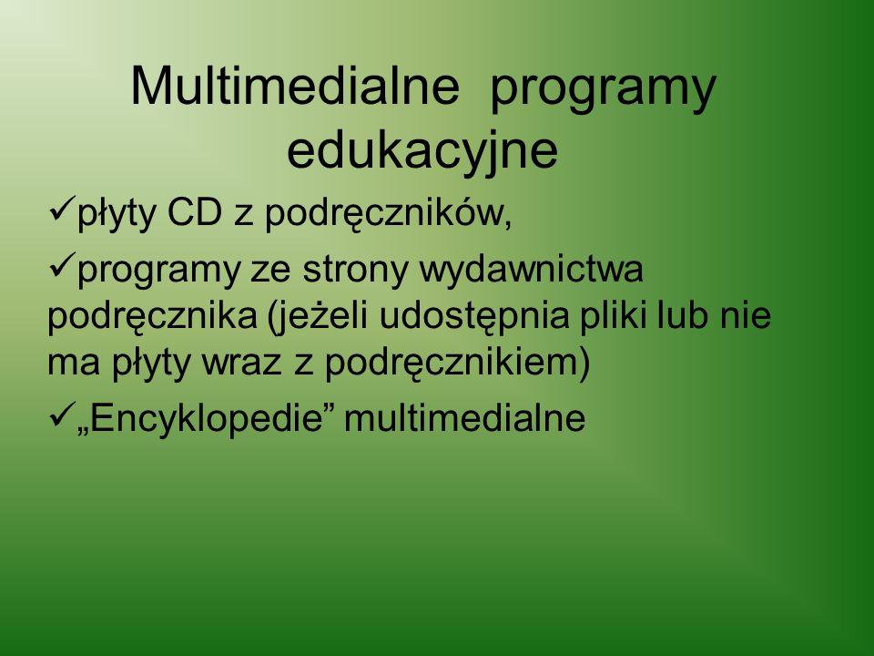 Multimedialne programy edukacyjne