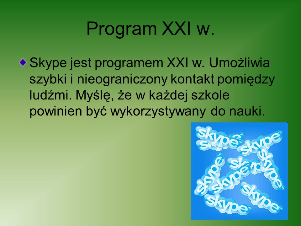 Program XXI w.