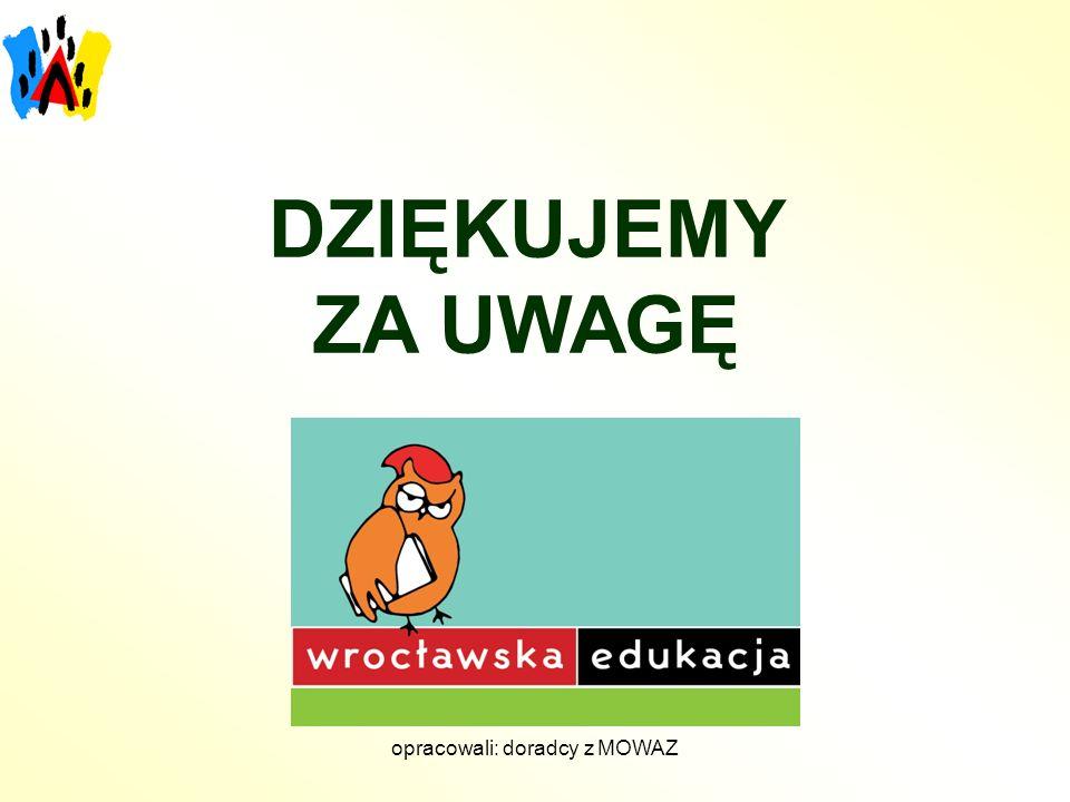 opracowali: doradcy z MOWAZ