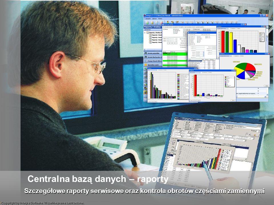 Centralna bazą danych – raporty