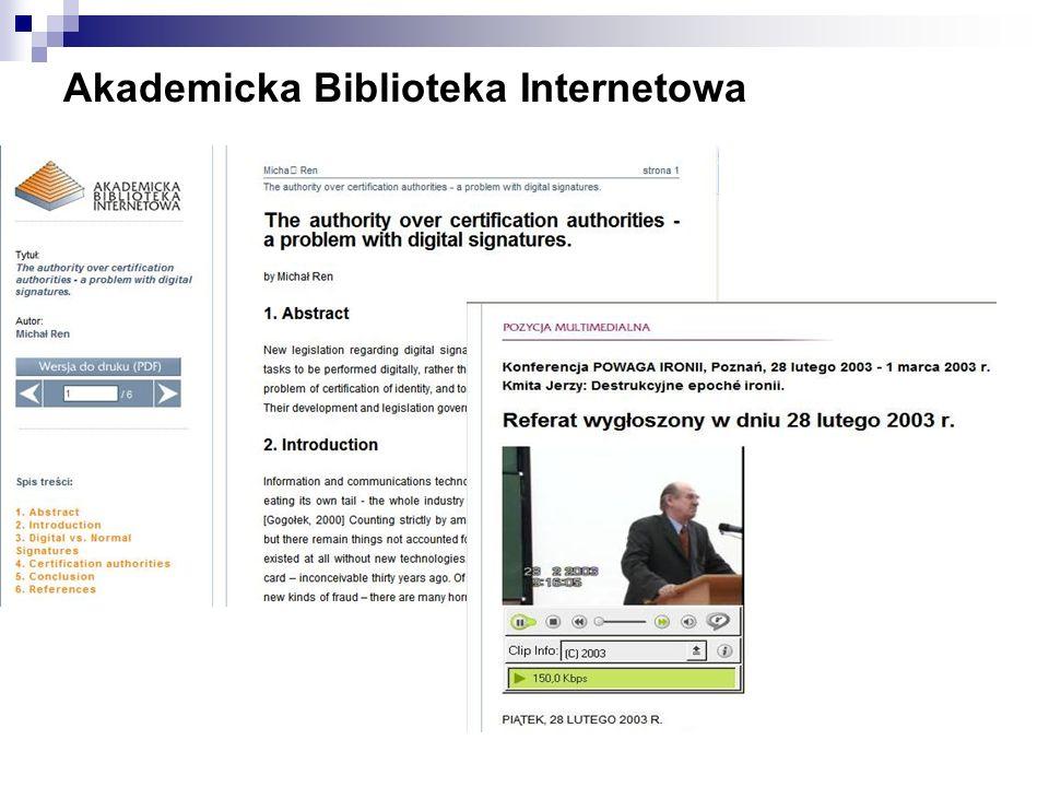 Akademicka Biblioteka Internetowa