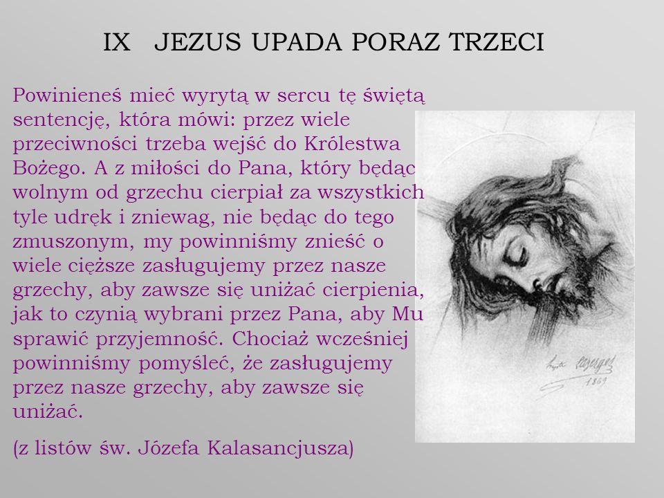 IX JEZUS UPADA PORAZ TRZECI