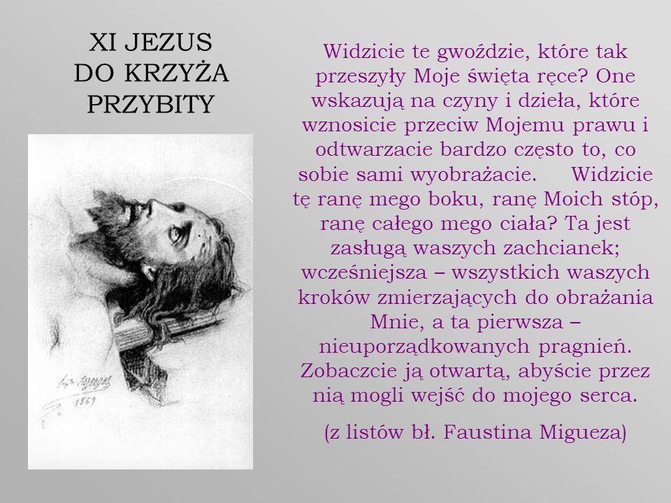 (z listów bł. Faustina Migueza)