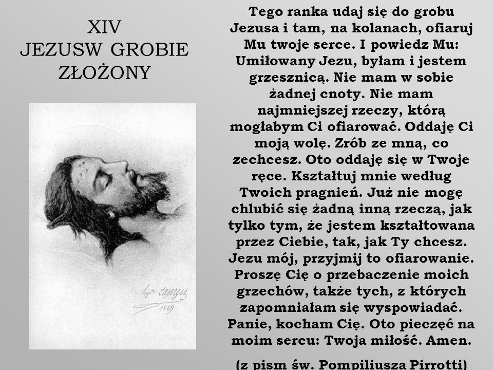 (z pism św. Pompiliusza Pirrotti)