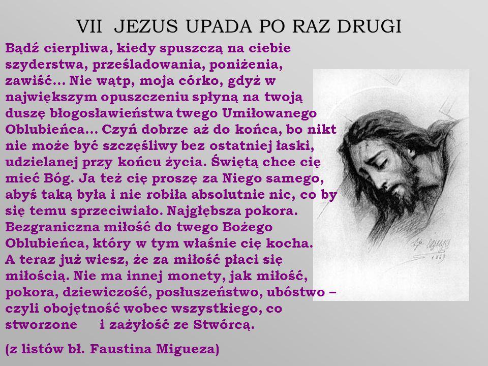 VII JEZUS UPADA PO RAZ DRUGI