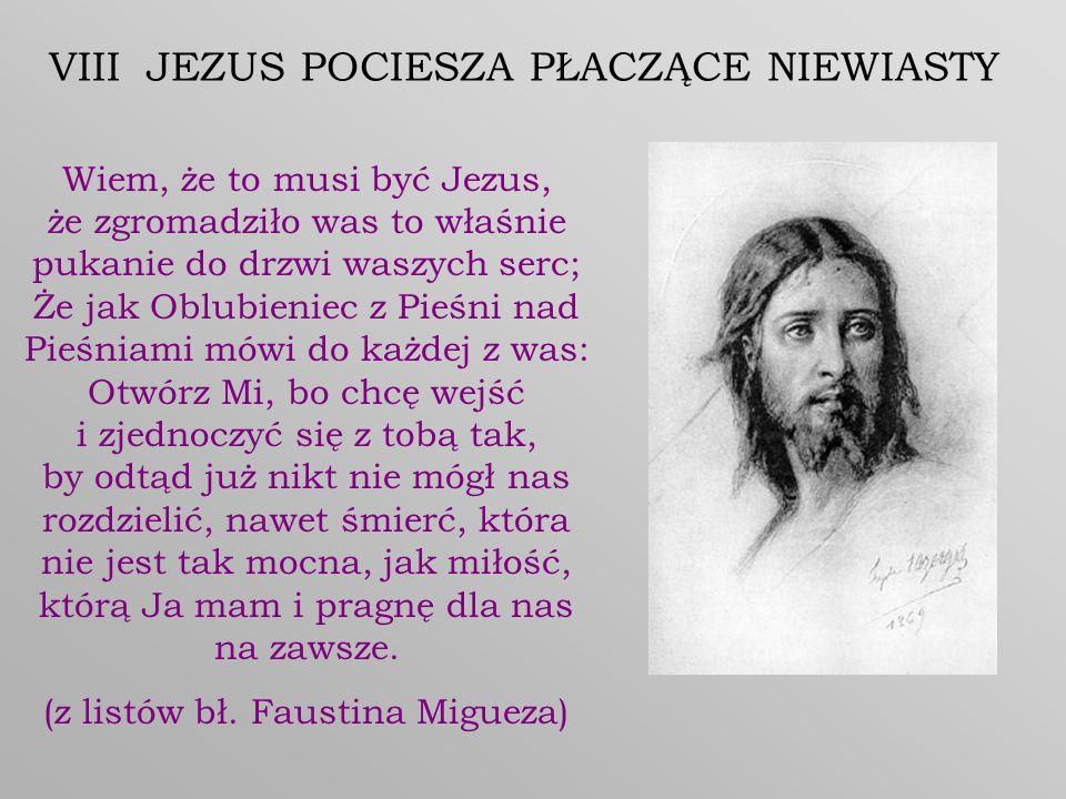 VIII JEZUS POCIESZA PŁACZĄCE NIEWIASTY