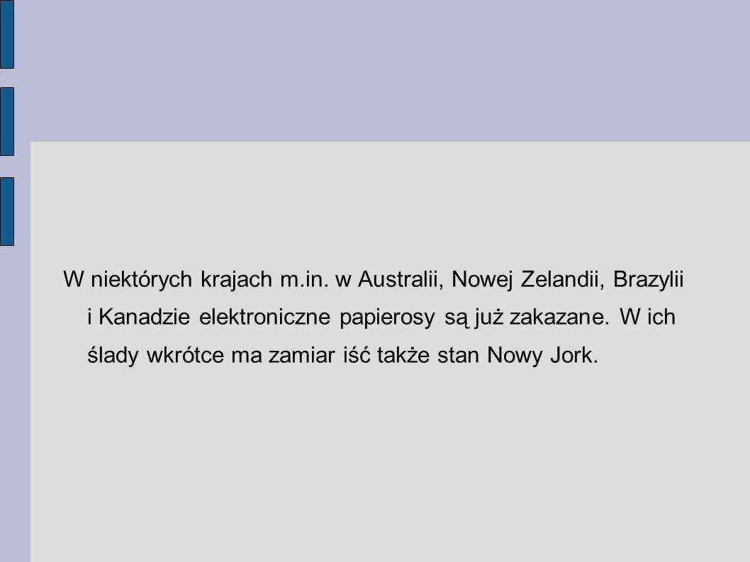 W niektórych krajach m. in