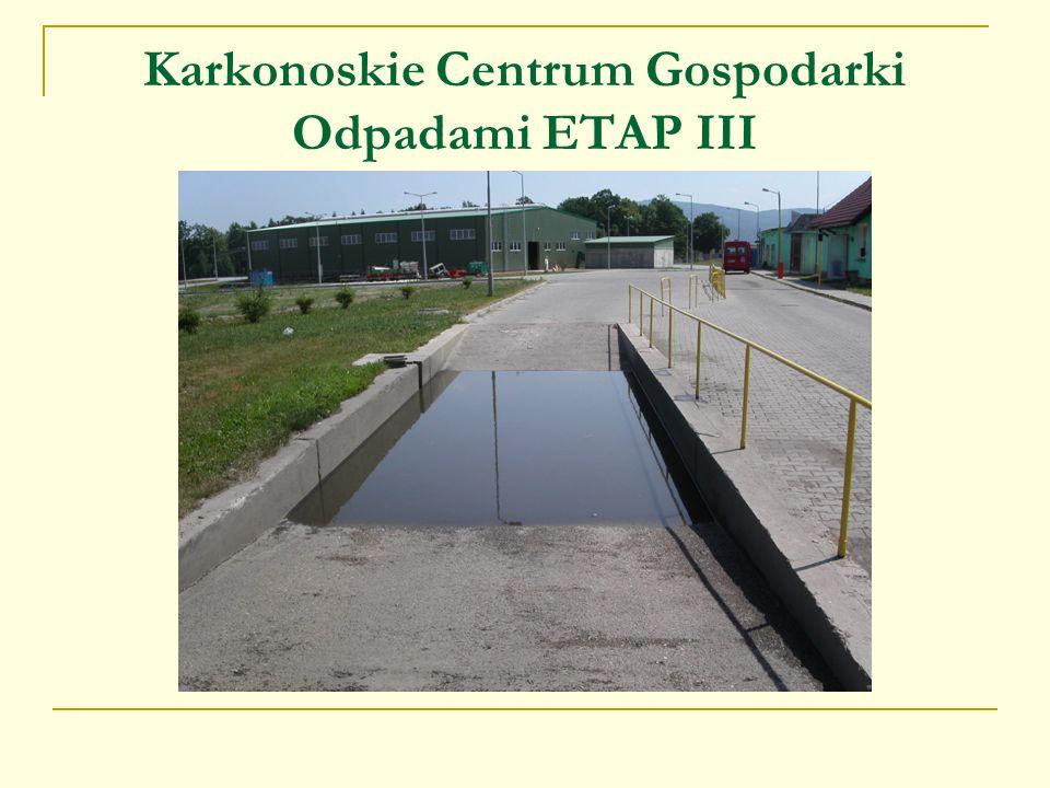 Karkonoskie Centrum Gospodarki Odpadami ETAP III