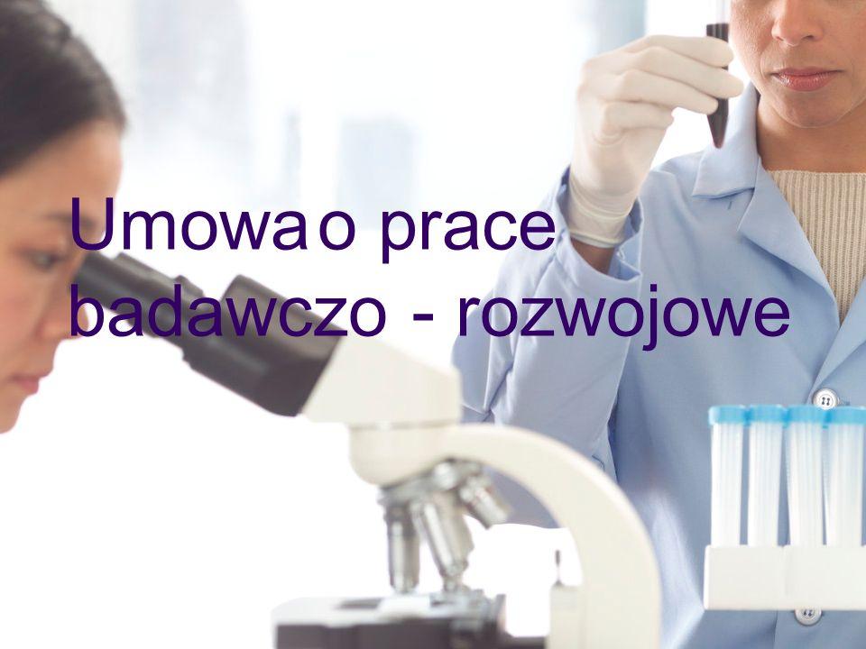Umowa o prace badawczo - rozwojowe
