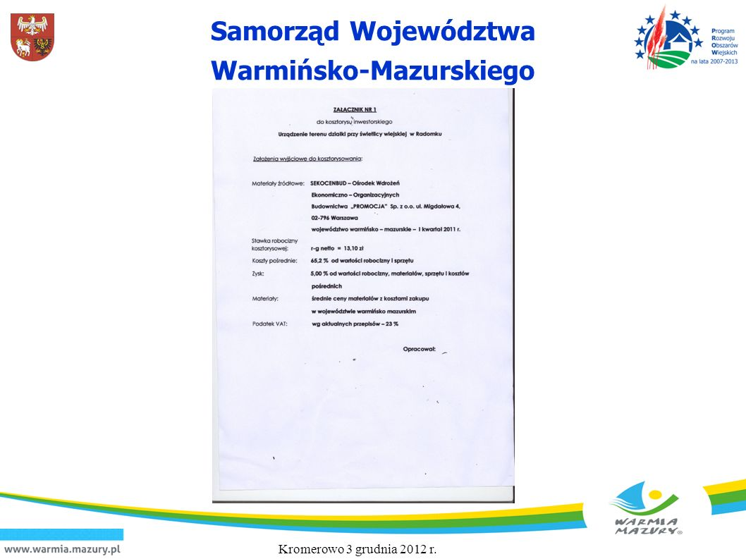 Kromerowo 3 grudnia 2012 r. 23