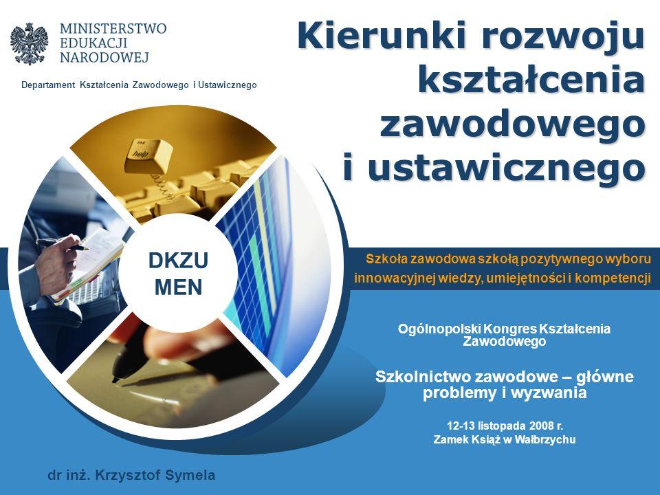 Kierunki rozwoju kształcenia zawodowego i ustawicznego