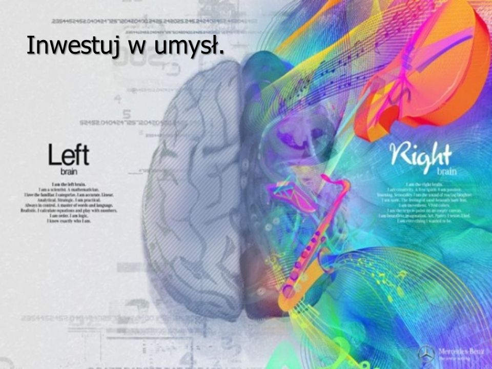 Inwestuj w umysł.