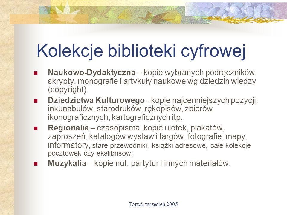 Kolekcje biblioteki cyfrowej