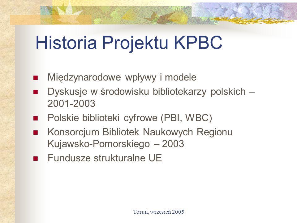 Historia Projektu KPBC