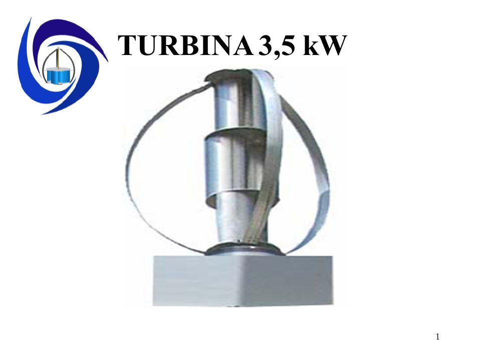 TURBINA 3,5 kW