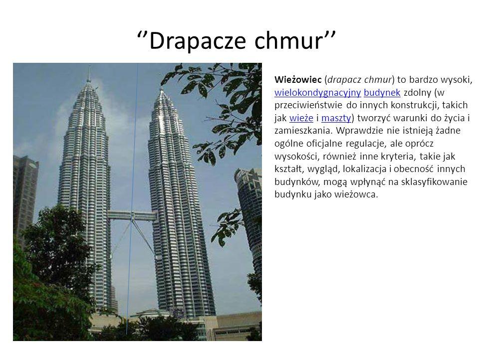 ''Drapacze chmur''