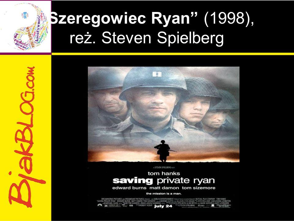 """Szeregowiec Ryan (1998), reż. Steven Spielberg"