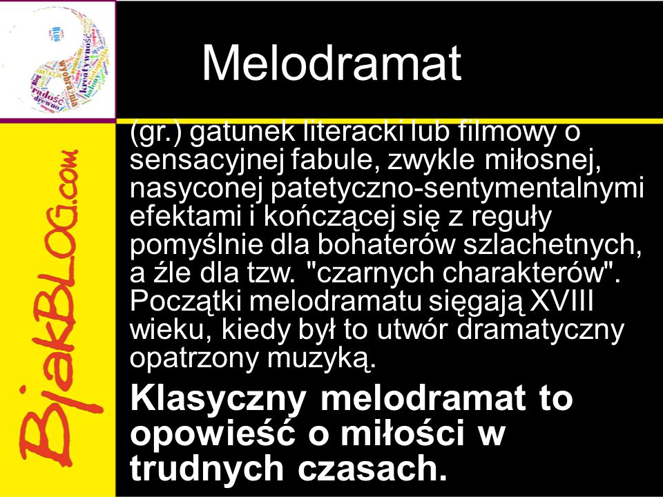 Melodramat