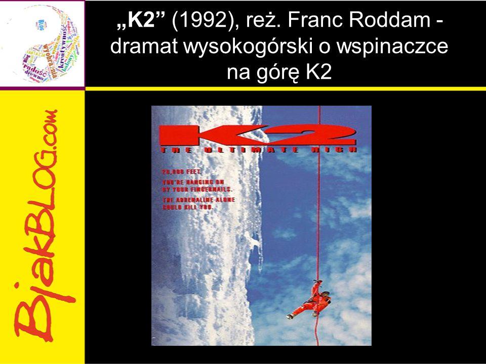 """""""K2 (1992), reż. Franc Roddam - dramat wysokogórski o wspinaczce na górę K2"""