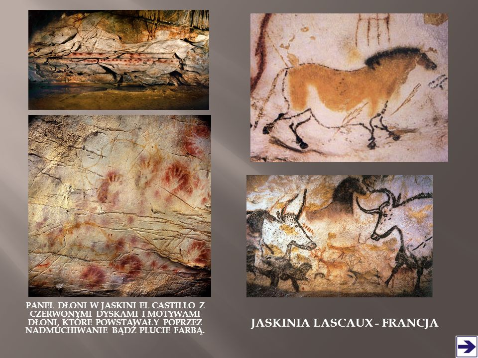 JaskiniA Lascaux - FRANCJA