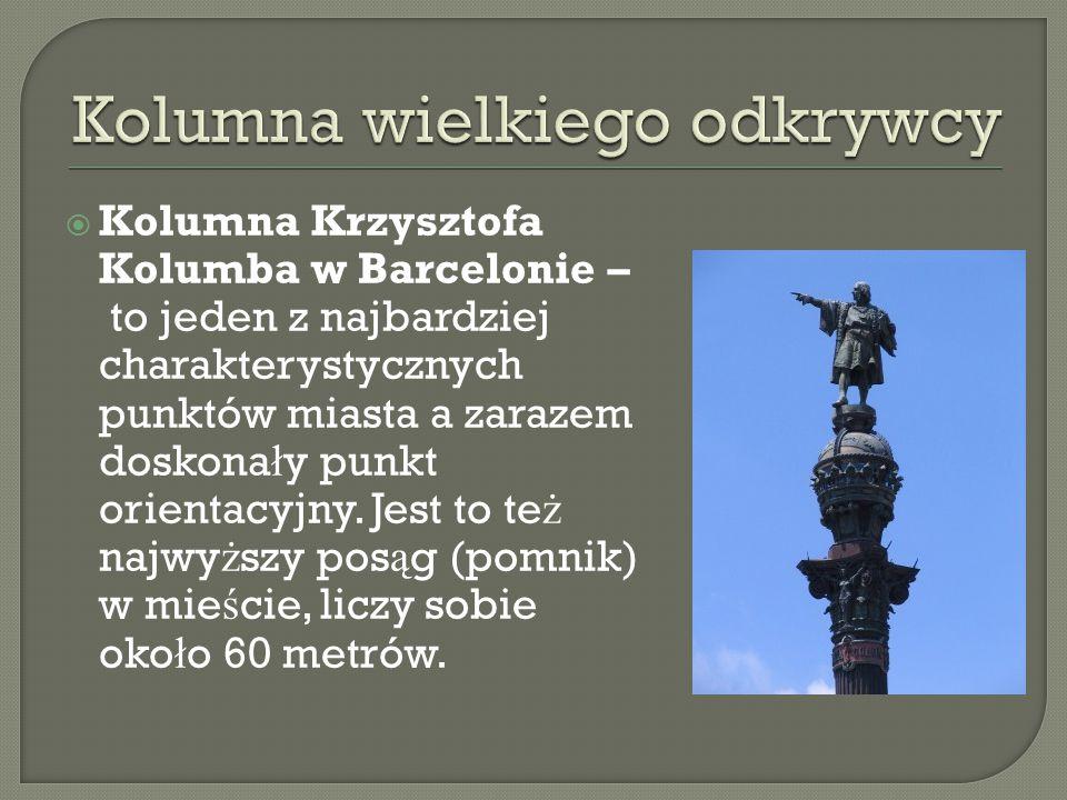 Kolumna wielkiego odkrywcy
