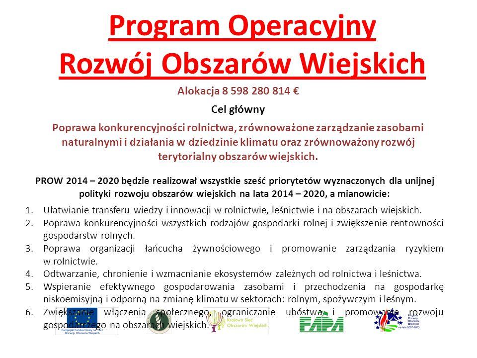 Program Operacyjny Rozwój Obszarów Wiejskich