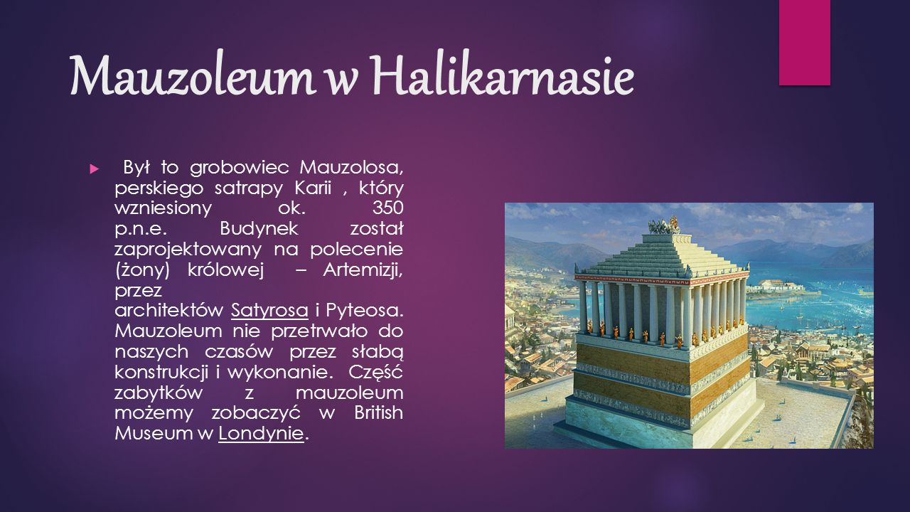 Mauzoleum w Halikarnasie