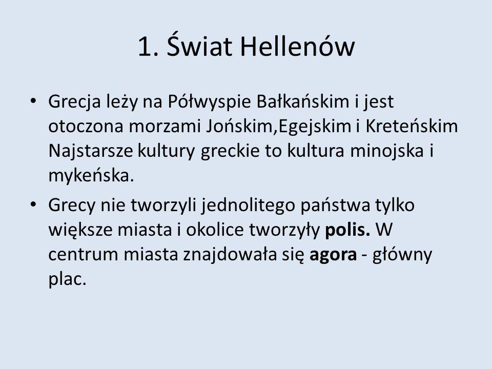 1. Świat Hellenów