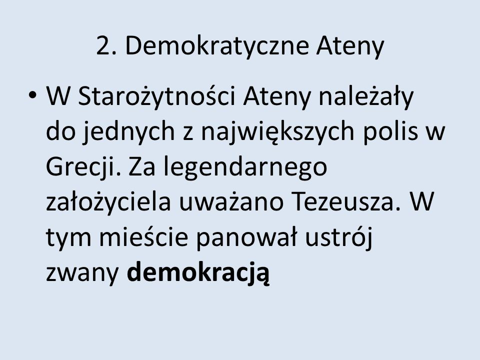2. Demokratyczne Ateny