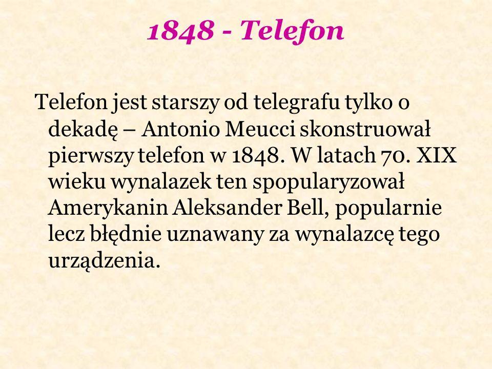 1848 - Telefon