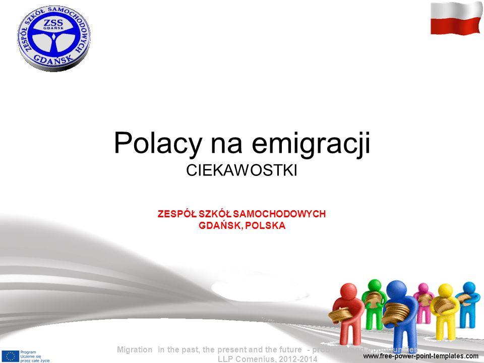 Polacy na emigracji CIEKAWOSTKI