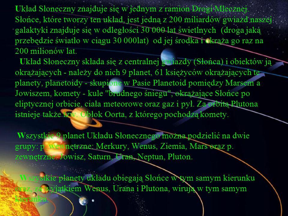 Układ Słoneczny znajduje się w jednym z ramion Drogi Mlecznej