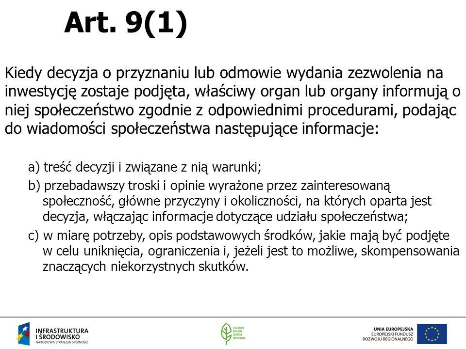 Art. 9(1)