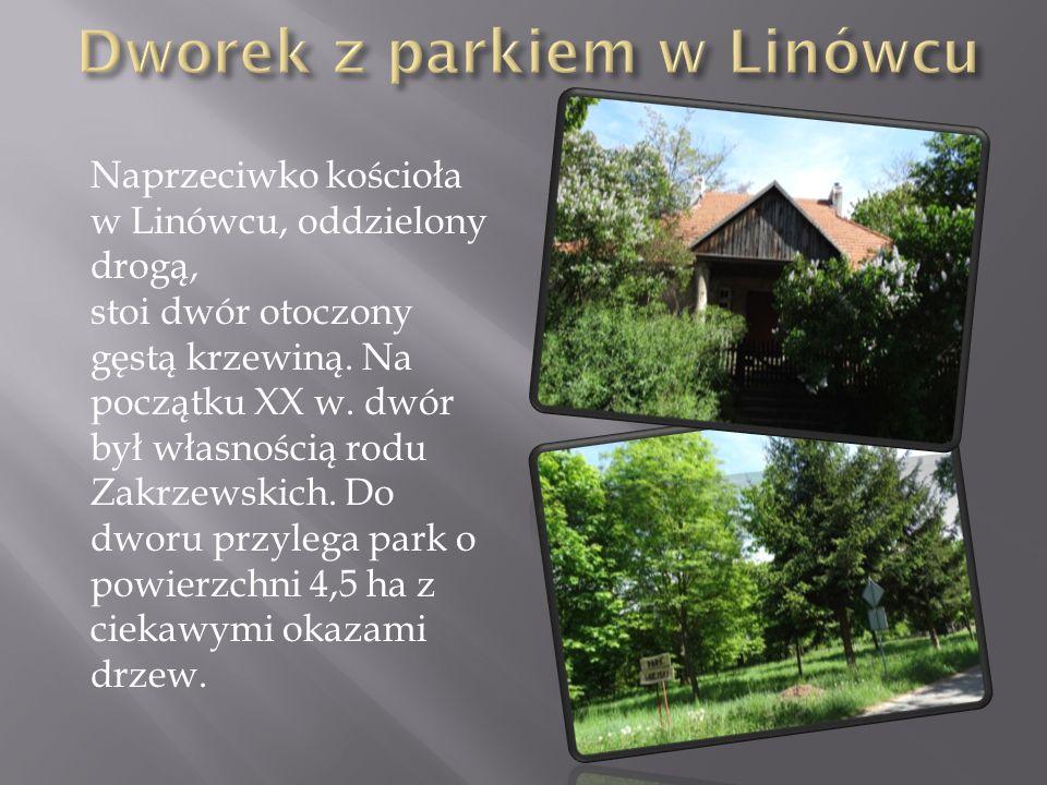 Dworek z parkiem w Linówcu