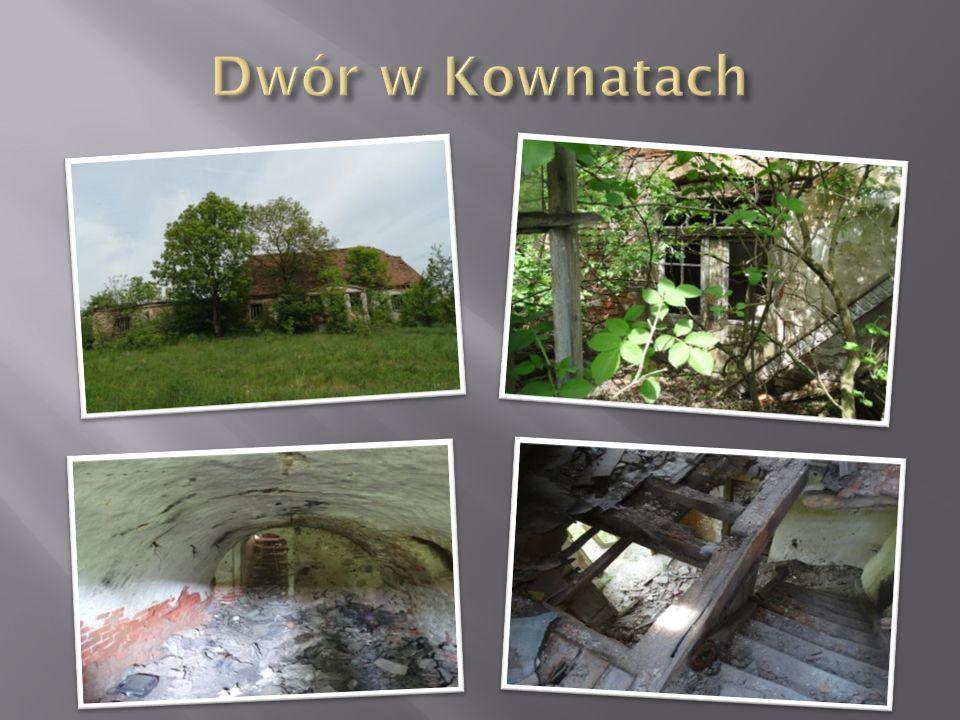 Dwór w Kownatach