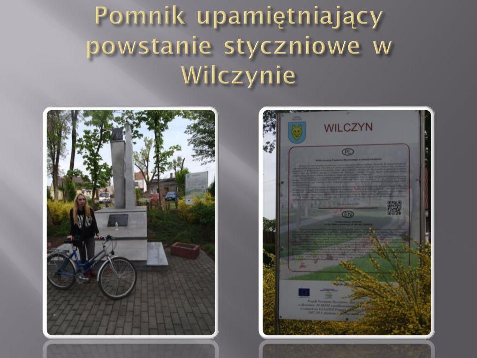 Pomnik upamiętniający powstanie styczniowe w Wilczynie