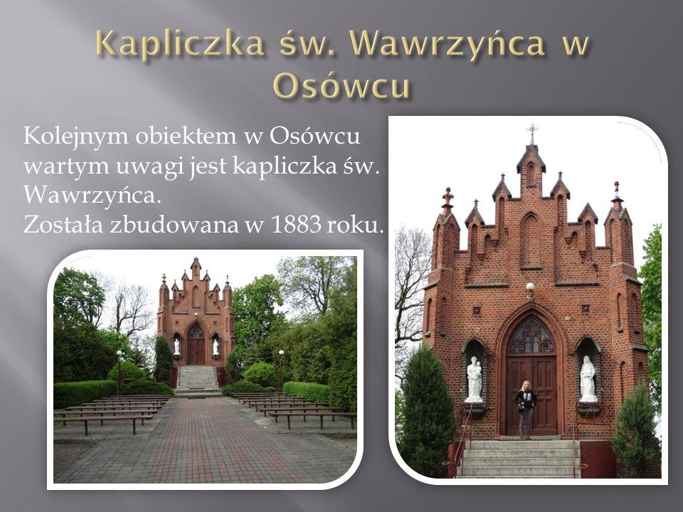 Kapliczka św. Wawrzyńca w Osówcu