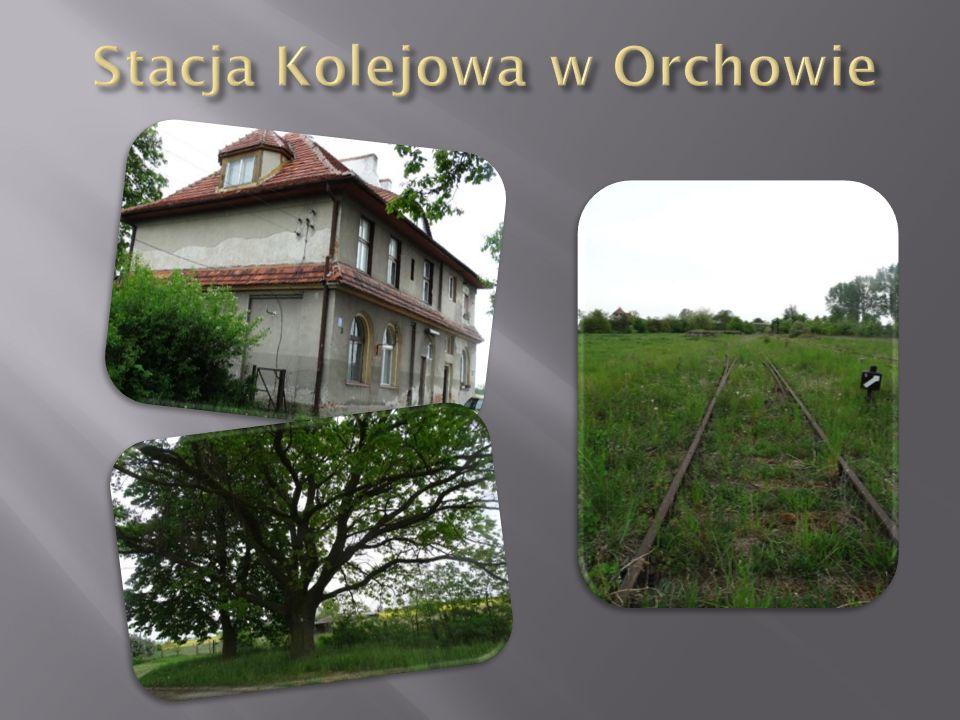 Stacja Kolejowa w Orchowie