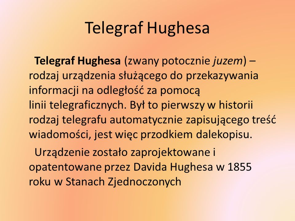 Telegraf Hughesa