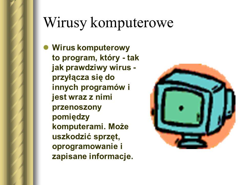 Wirusy komputerowe