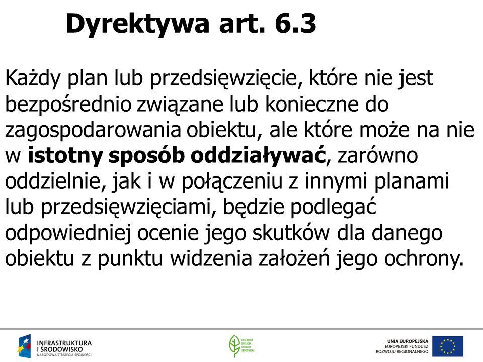 Dyrektywa art. 6.3