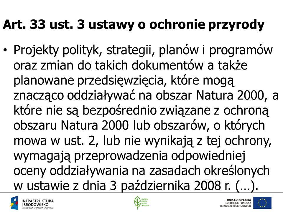 Art. 33 ust. 3 ustawy o ochronie przyrody